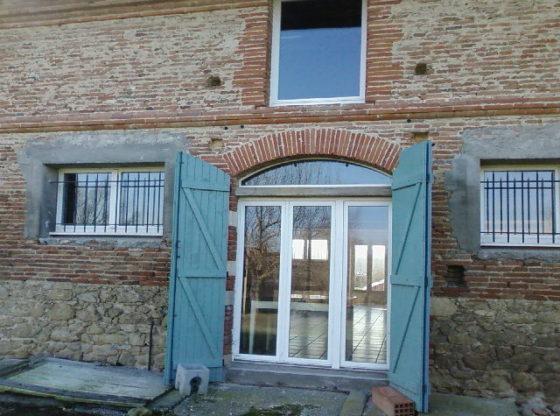 Rénovation de fenêtre dans le Lauragais