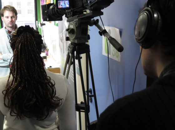 Réalisation d'un film promotionnel en entreprise