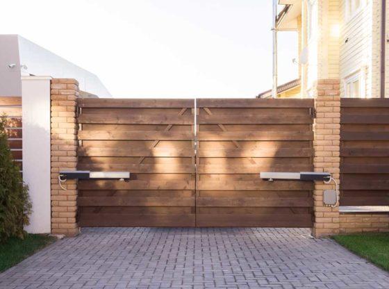 portail solide et fiable pour votre jardin