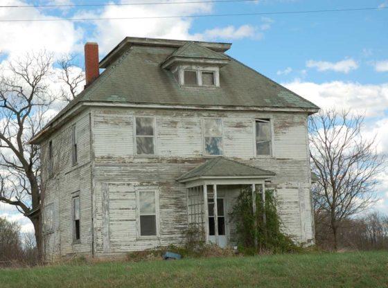 vieille maison en héritage