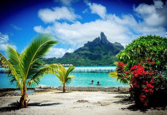 voyage sur une île paradisiaque