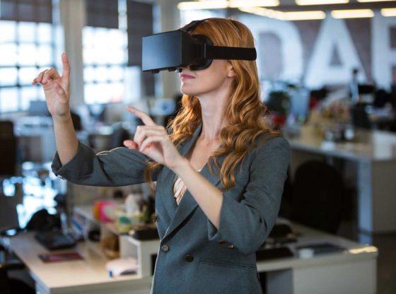 formation en entreprise avec la réalité virtuelle (VR)