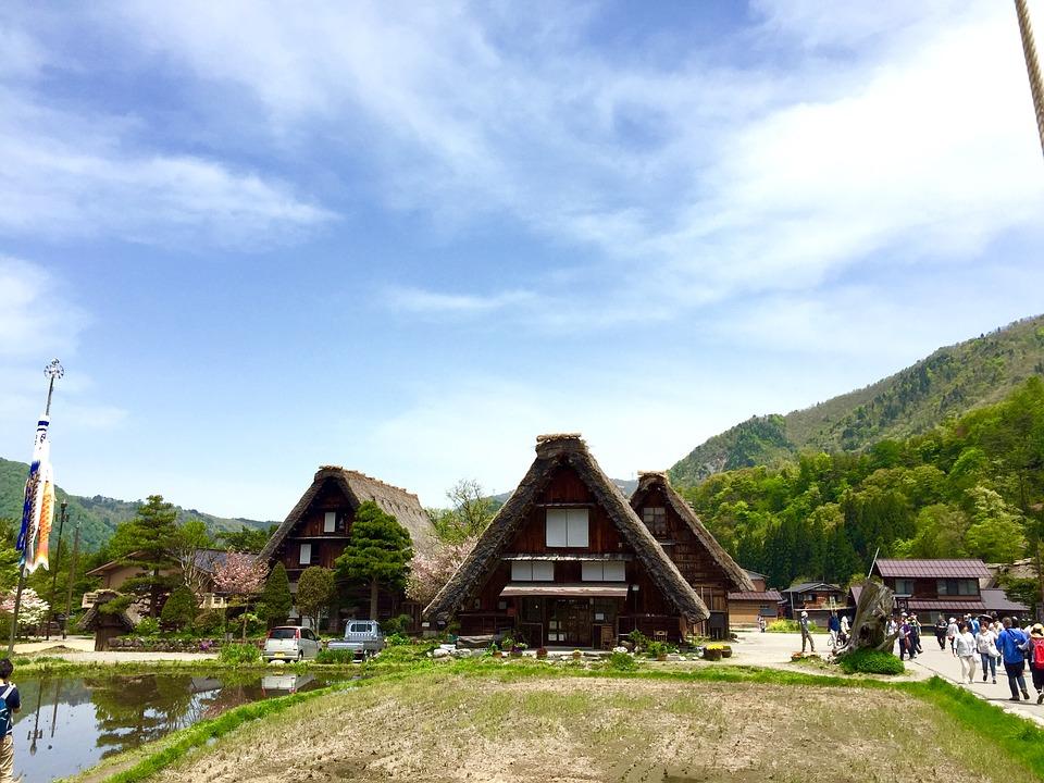 chaumière de shirakawa-go