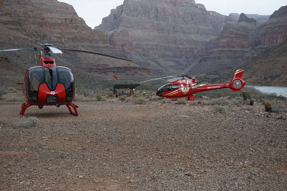 grand canyon en helicoptere
